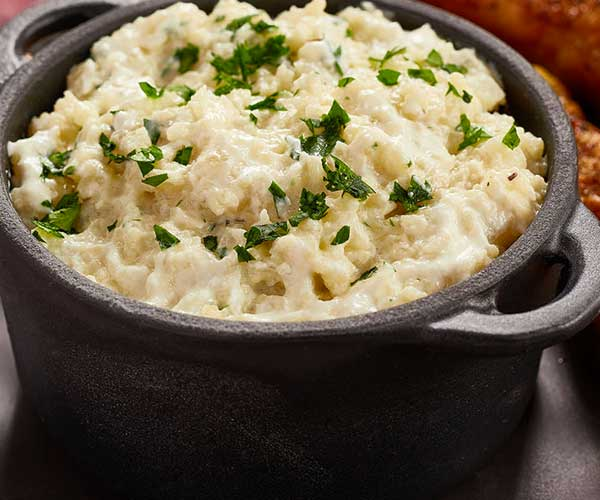 Photo of - Creamy Cauliflower Risotto