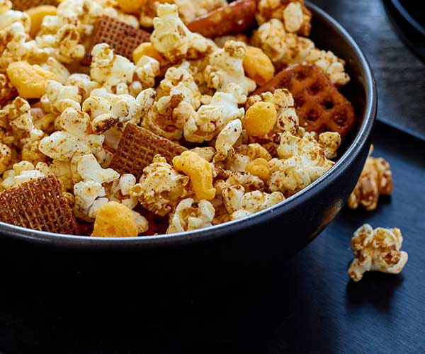 Photo of - Crunchy Cheddar Popcorn Mix