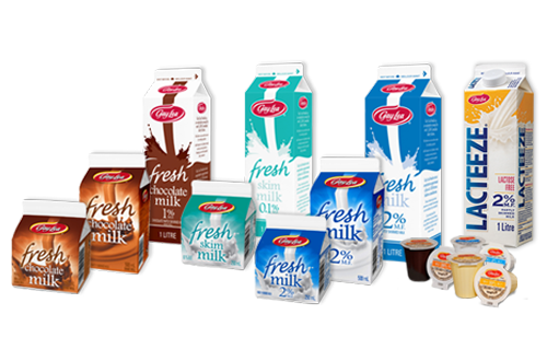 Product group photo for - Fluids - UHT Milk & Cream