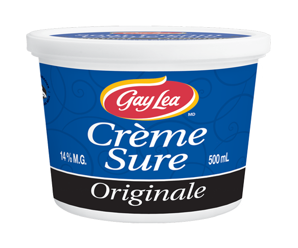 Photo of - GAY LEA - Crème sure - Ordinaire