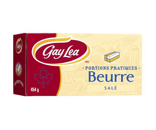 Photo of - Bâtonnets de beurre - salé