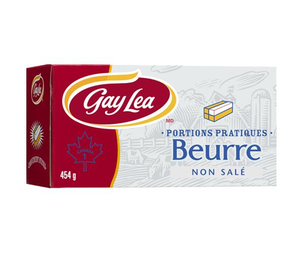 Photo of - Bâtonnets de beurre - non salé