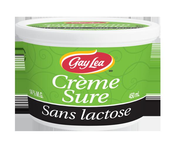 Photo of - Crème Sure - Sans Lactose à 14% M.G.