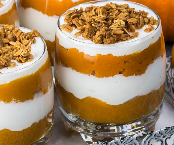 Photo of - Smooth Pumpkin Spice Parfait