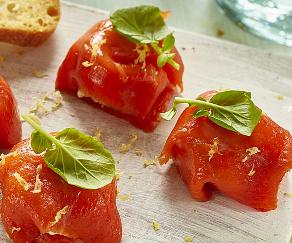 Photo of - Smoked Salmon Parcels