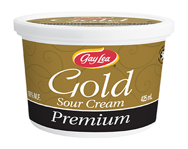 Photo of - GAY LEA - Gold Premium Sour Cream
