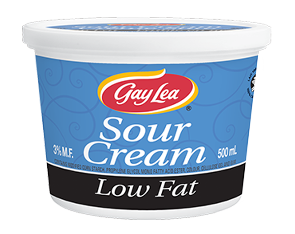Photo of - GAY LEA - Low Fat Sour Cream