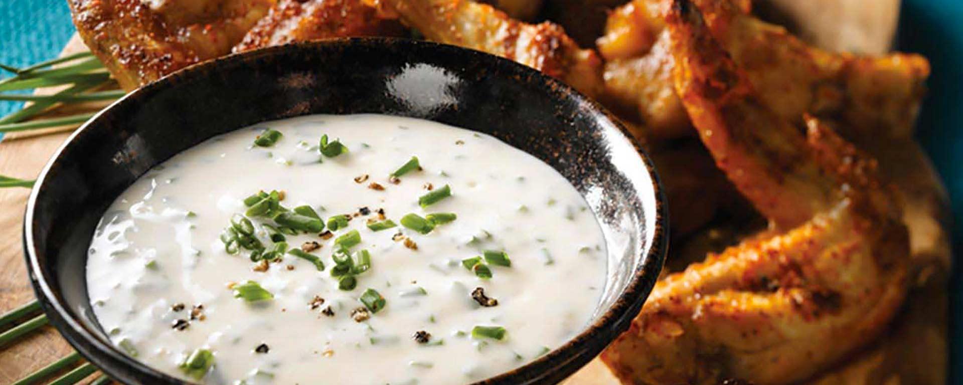 Photo for - Sour Cream Dip – Maple Chive Sour Cream