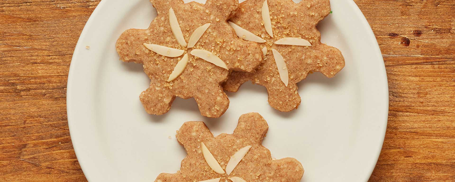 Photo for - Speculaas Snowflakes