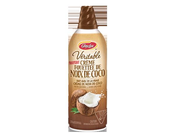 Photo of - Crème fouettée à la noix de coco