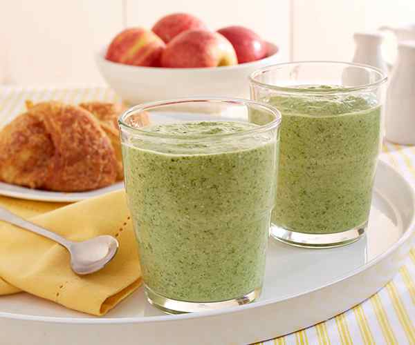 Photo of - Apple & Kale Smoothie