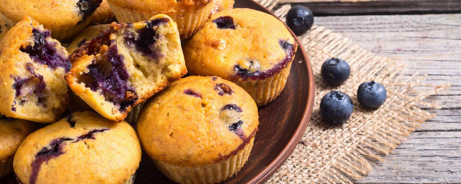 Photo for - Blueberry Vanilla Muffins