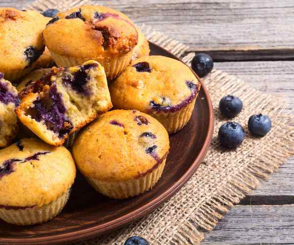Photo of - Blueberry Vanilla Muffins