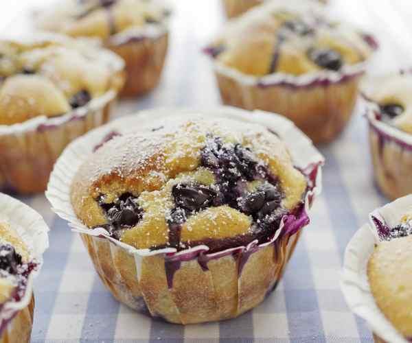 Photo of - Muffins aux Baies Mélangées