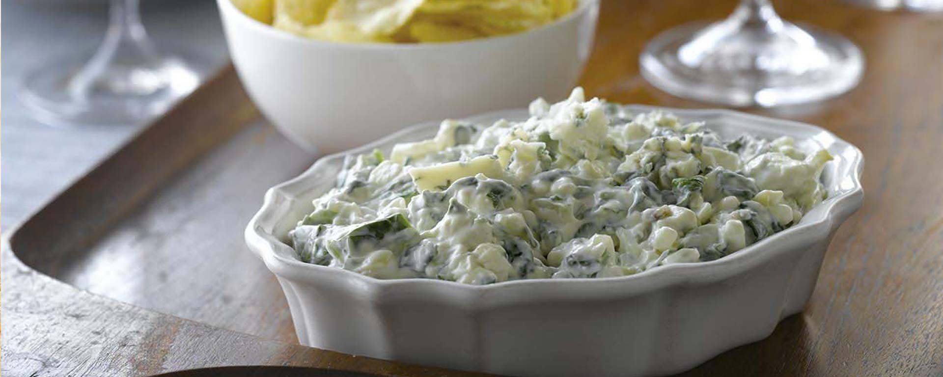 Photo for - Canadian Blue Cheese and Spinach Dip