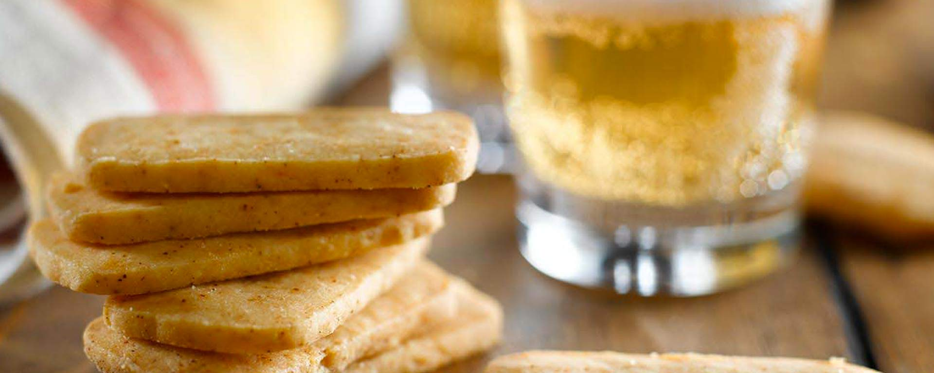 Photo for - Chipotle and White Cheddar Shortbread