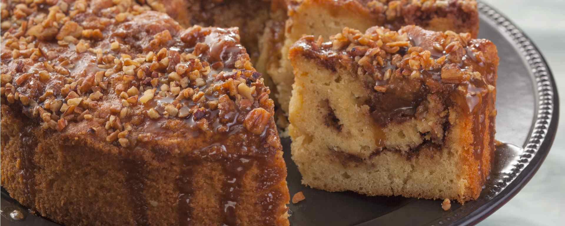 Photo for - Classic Coffee Cake with Pecans and Cinnamon