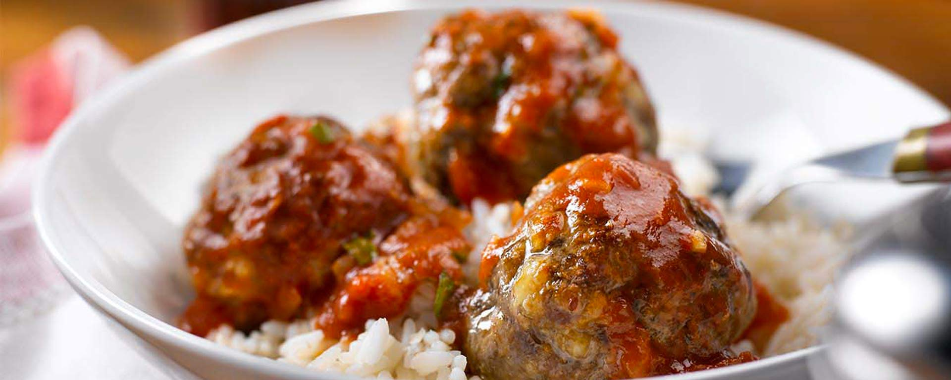Photo for - Cottage Cheese Meatball Marinara