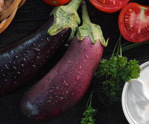 Photo of - Grilled Eggplant with Sour Cream Sauce