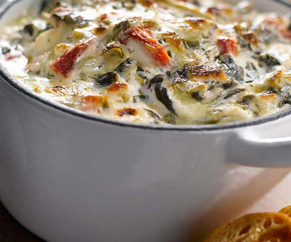 Photo of - Kicked Up Spinach Dip –Two Ways