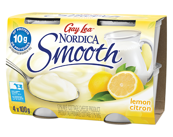 Photo of - Cottage Cheese – Single Serve – Lemon