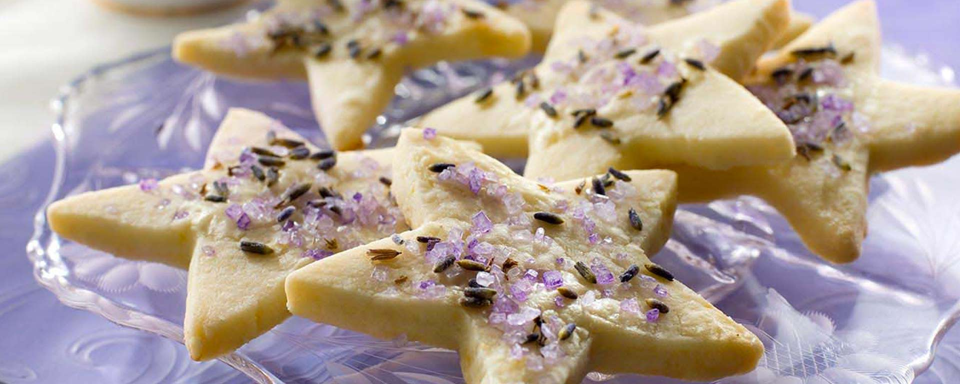 Photo for - Lemon Lavender Shortbread