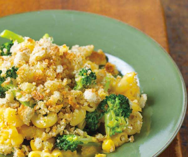 Photo of - Macaroni and Cottage Cheese Skillet