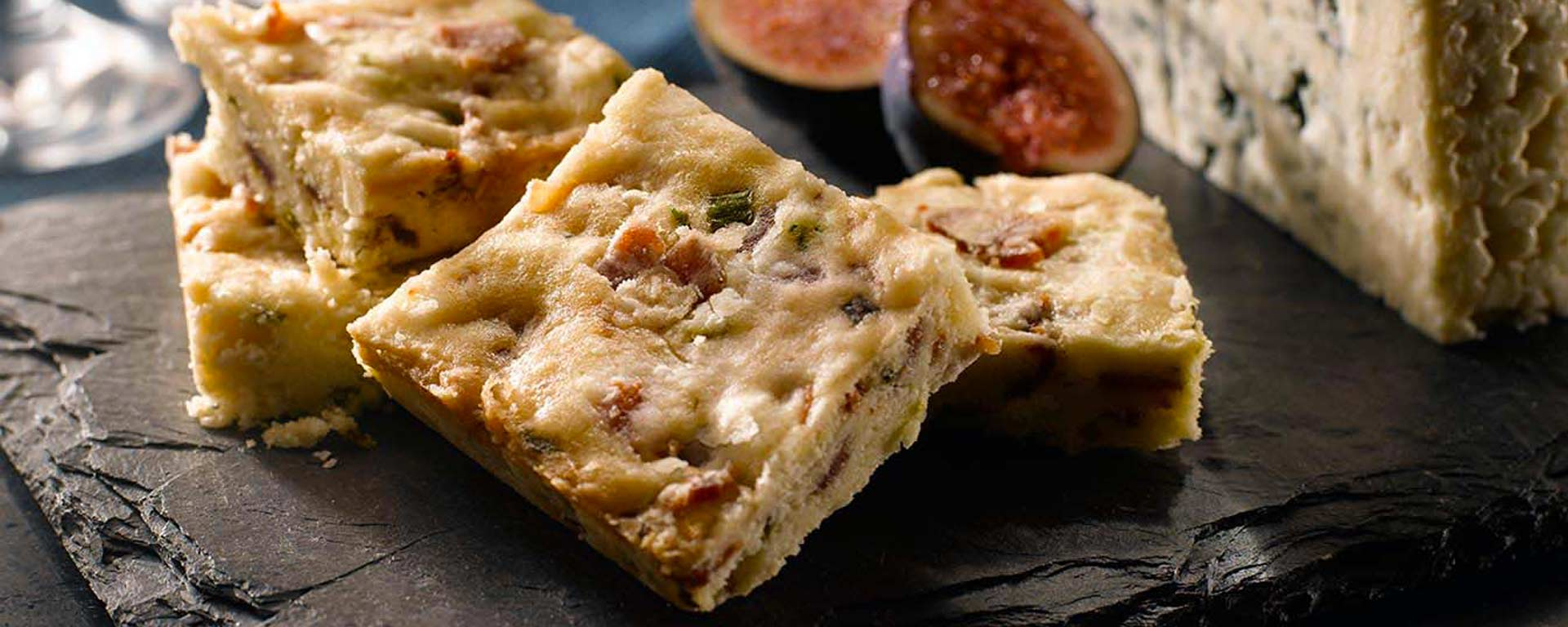 Photo for - Maple Glazed Bacon and Chive Shortbread