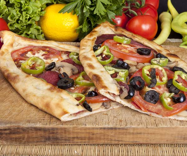 Photo of - Mozza Pita-Calzone