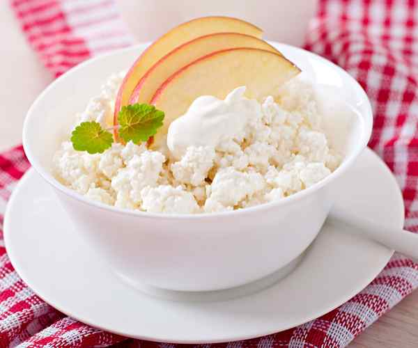 Photo of - Orchard Fruit Cottage Cheese Bowl