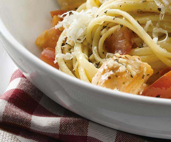 Photo of - Pomodoro Sauce with Chicken and Linguine