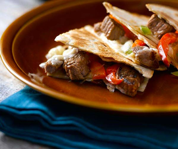 Photo of - Prairie Cheesesteak Quesadillas