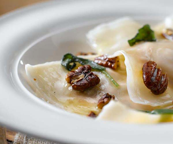 Photo of - Pumpkin Sage Ravioli