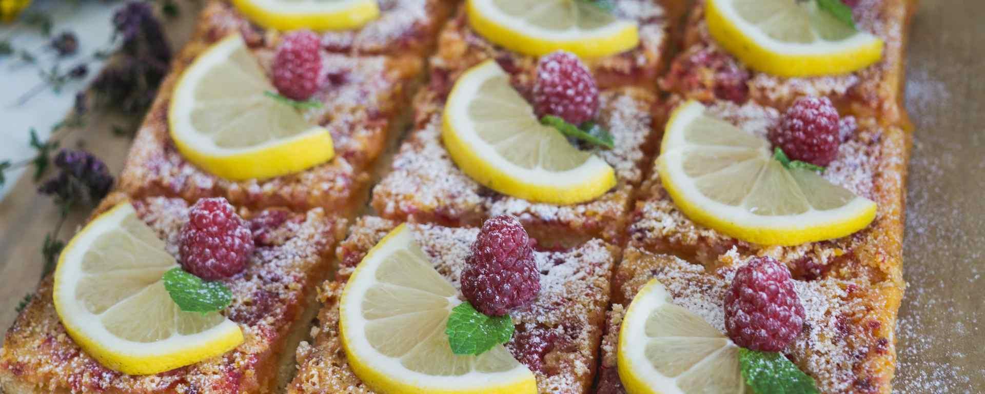 Photo for - Raspberry Lemon Squares