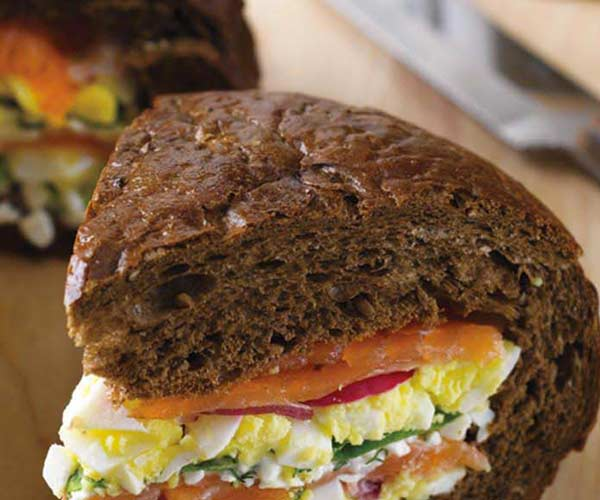 Photo of - Muskoka Smoked Salmon Muffaletta