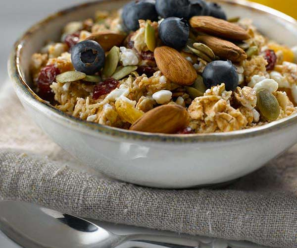 Photo of - Le muesli du lendemain, riche en protéines