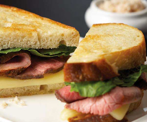 Photo of - Roast Beef and Horseradish Grilled Cheese