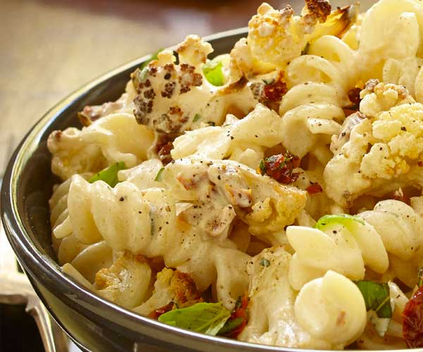 Photo of - Roasted Cauliflower Pasta Toss