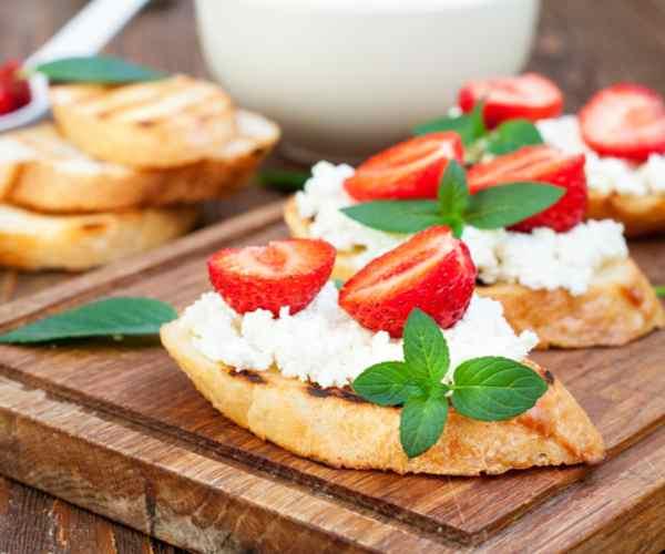 Photo of - Savoury Grilled Crostini