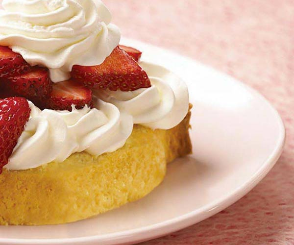 Photo of - Shortcake aux fraises