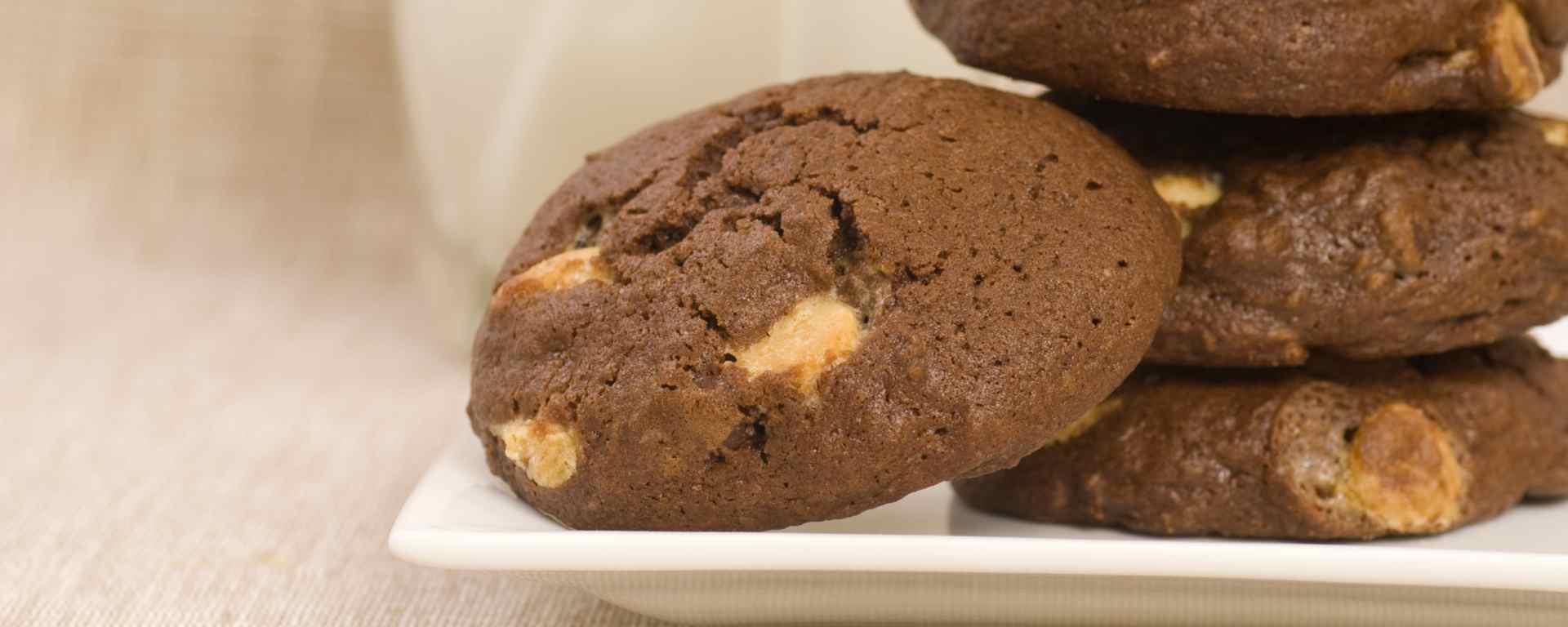 Photo for - Triple Chocolate Chunk Cookies