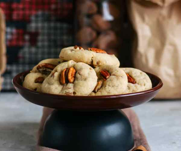 Photo of - Whole Wheat Pecan Shortbread