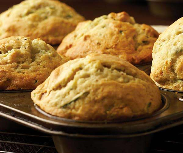 Photo of - Muffins aux courgettes