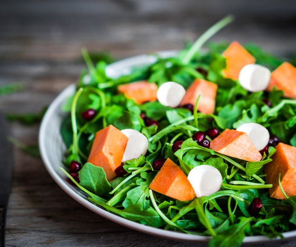Photo of - Butternut Squash and Bocconcini Salad