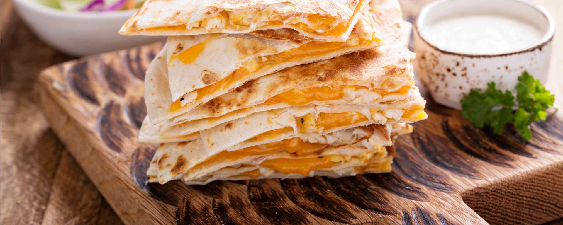 Photo for - Goat Cheese Quesadillas