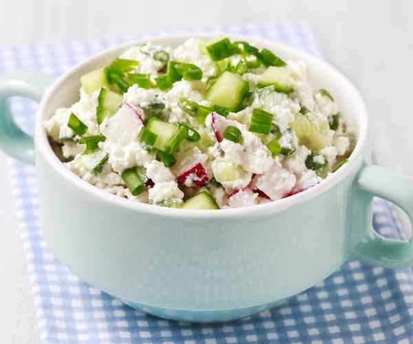 Photo of - Zesty Italian Cottage Cheese Salad Topper
