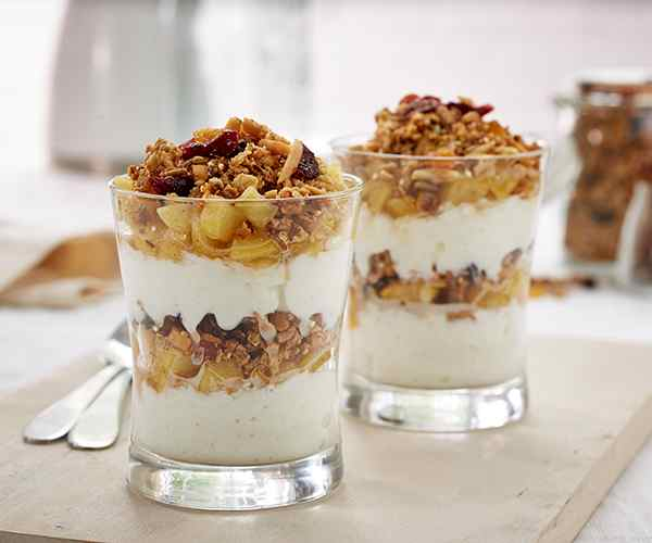 Photo of - Maple Apple Cinnamon Breakfast Parfaits