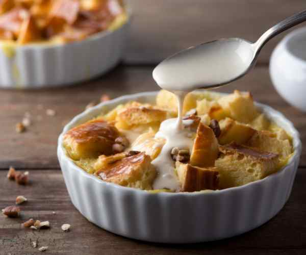 Photo of - New Brunswick Bread Pudding with Cream Sauce