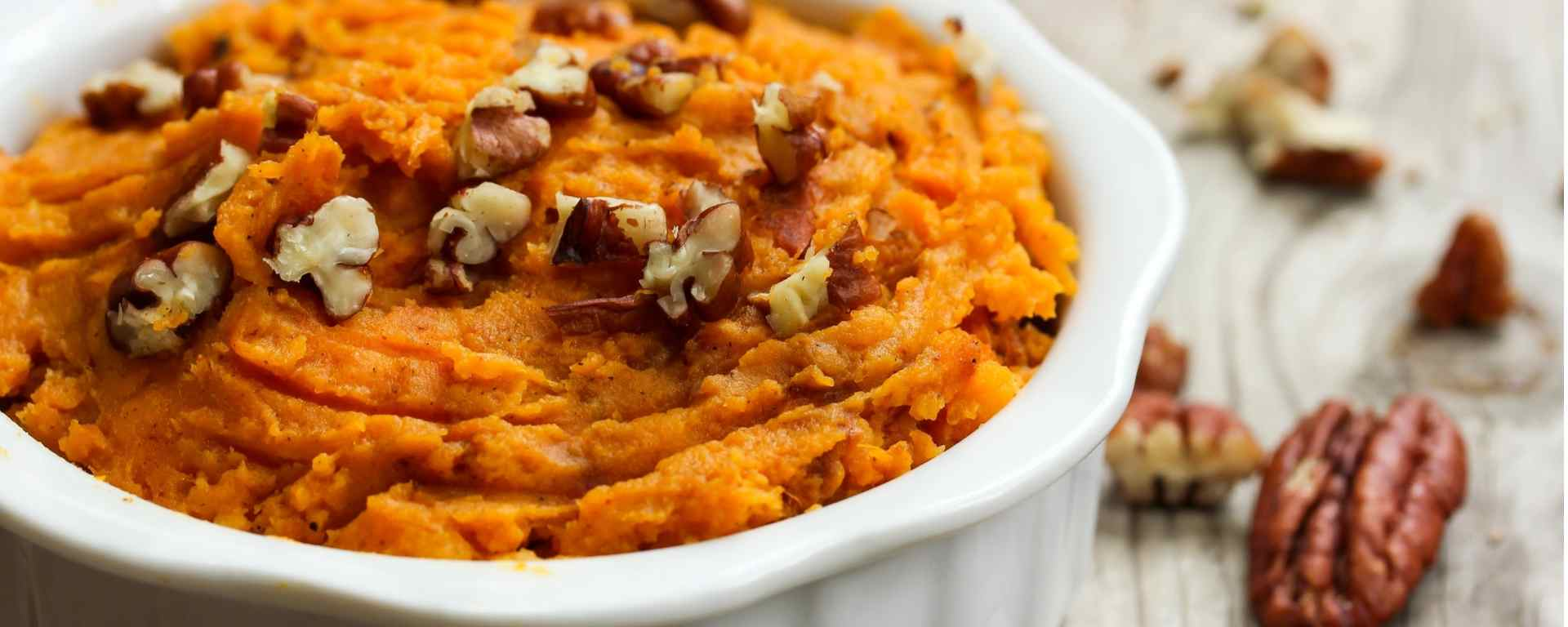 Photo of - Pecan & Parmesan Sweet Potato Bake