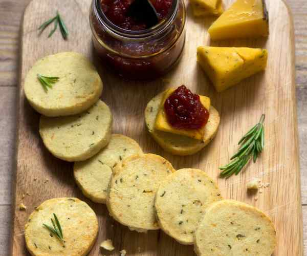 Photo of - Rosemary Swiss Shortbread Bites